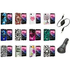 For LG Google Nexus 5 Design Hard Snap-On Case Cover Accessory+Aux+Charger