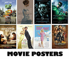 Choice of MOVIE Posters NEW A3, A2, A1 Art Print Posters High Quality