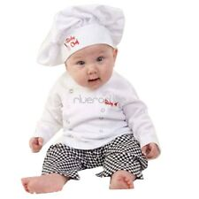 2pcs Baby Boy Cook Chef Clothes Party Costume Fancy Dress Suit Outfits Halloween