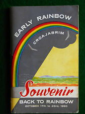 [WOOD, P.L. (Compiled by)]. Early Rainbow (Croajabrim) Souvenir.