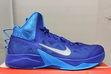 Nike Zoom Hyperfuse 2013 TB 615496400 Game Royal Silver Brand New