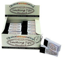 QUINTESSENTIAL WHITE STANDARD SMOKING FILTER TIPS ROACHES -0061