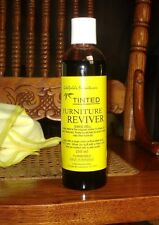 TINTED FURNITURE REVIVER & POLISH 250ml HIDE SCRATCHES & REFRESH FADED WOOD