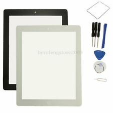 For iPad 3 3rd 4 4th Repair Touch Glass Screen Digitizer + Home Button + Tools