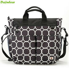 3 PCS/Set Waterproof Baby Diaper Nappy Bag mummy bag Womens Handbag Shoulder Bag
