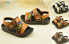 New cute toddler boys sandals little kids baby  summer beach shoes size 5-7.5