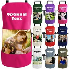 Apron Personalised with Photo Pocket and Text by Happy Snap Gifts®