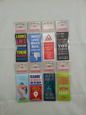 Magnetic Bookmark Very Funny naughty design Great gift Choice of 24 New
