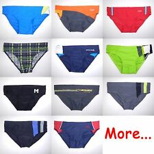 Boy Swim Brief Trunks Costume Slip Bottom Bathing Suit Swimwear Swimmer Age 10