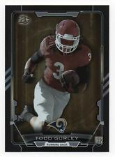 TODD GURLEY 2015 Bowman BLACK FOIL REFLECTOR PARALLEL ROOKIE RAMS (V4632)
