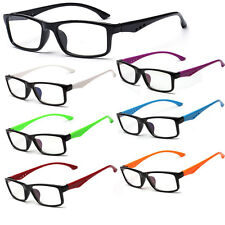 New Unisex Clear Lens 7 Colors Frame Eyewear Fashion Men Lady Eyewear Glasses