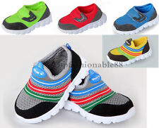 Good quality Baby Toddler Shoes Leather + Mesh Kids Sport shoes US size 6-8