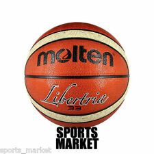 Molten Libertria Outdoor Basketball - Tan- Size 7 - Free Shipping