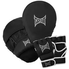 Tappout Combo Box Set MMA Boxing Gloves + 2x Paw Boxes Martial arts Gloves