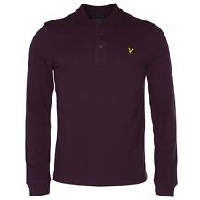 Lyle & Scott L Sleeve Pique Polo T-Shirt-Various Colours & Sizes Available -BNWT