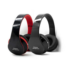 TOP Bluetooth Wireless Stereo Foldable Headset Headphones Mic for iPhone Samsung