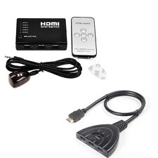 3/5 Port 1080P HDMI Switch Selector Switcher Splitter Hub for PS3 DVD HDTV