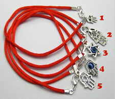 Mixed Kabbalah Hand Charms Red String Good Luck Bracelets