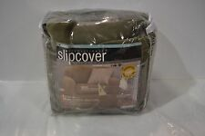 MAYTEX for JCP Slipcover ARM CHAIR STRETCH CARTER OLIVE GREEN 1 OR 2 PIECE
