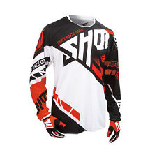 SHOT 2016 MEN'S MOTOCROSS / MTB JERSEY - CONTACT RACEWAY - red