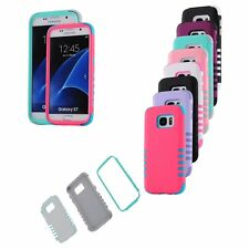 For Samsung Galaxy S7 Edge Shockproof Hybrid Rugged Rubber Hard Case Cover Skin