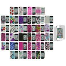 Color Bling Rhinestone Diamond Case+Screen Protector for iPhone 4S 4G