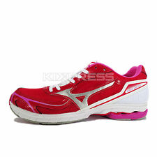 Mizuno Wave Idaten Dyna W [J1GB148603] Running Red/Silver-White