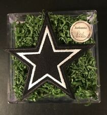 Emmitt Smith, Troy Aikman, Michael Irvin Game Used Turf! Dallas Cowboys Gift!