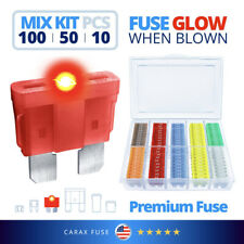 AUTO CAR Standard size blade ATO ATC ATP FUSES MIX LED indicator GLOW WHEN BLOW