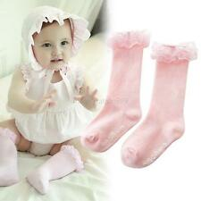 Lace Cotton Toddler Baby Socks Newborn Kids Baby High Socks Soft Cotton Stocking