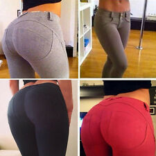 Sexy Women's Leggings Tight Pencil Trousers Skinny Jeggings Stretch Jeans Pants