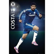 Chelsea FC Poster Diego Costa 58 Football Soccer EPL