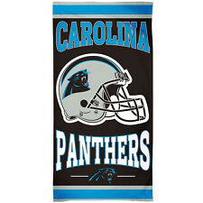 NEW NFL Carolina Panthers Bath or Beach Towel - 100% Cotton Cheer On Your Team