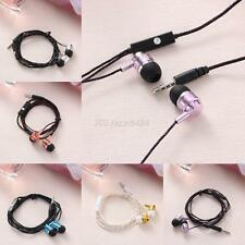 3.5mm Metal In-Ear Earphone Super Bass Headphone Stereo Headset Earbuds With Mic