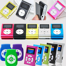 Digital Mini USB Clip MP3 Music Player LCD Screen Support 32GB Micro SD TF Card