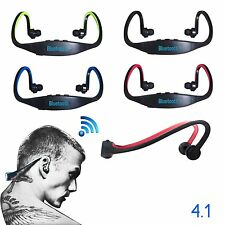 Wireless Bluetooth Headset Sport Stereo Earphone Headphone for Samsung Phone New