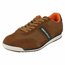 Mens One True Saxon Lace Up Trainers Volare