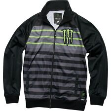 Monster Energy University Track Jacket One Industries Black Mens NEW Sz S,M,L