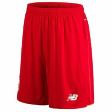 New Balance Liverpool FC Home Shorts 2015 2016 Mens Red EPL Football Soccer