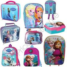 DISNEY FROZEN SCHOOL BAGS LUNCH, TROLLEY BAG, BACKPACKS OFFICIAL NEW FREE P+P