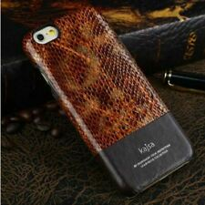 LUXURY GENUINE LEATHER ULTRA THIN BACK CASE COVER FOR APPLE IPHONE 6/6S AND PLUS