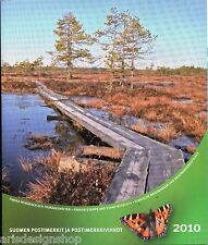 Finland Official Complete Year Set 2010 Stamps MNH