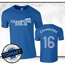 Leicester City Fan Champions T-Shirt, champions LCFC Foxes Limited Edition
