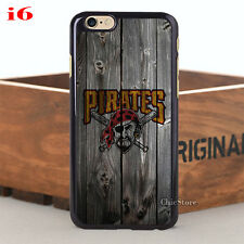 Cool Pittsburgh Pirates Case Cover For iPhone 4 4s 5 5c 5s 6 6plus 6s 6s plus