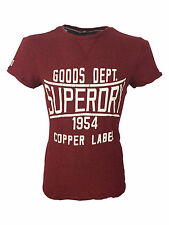 SALE £18 // Superdry Copper Label Magna Print Tee T-Shirt in Red Neck Grindle