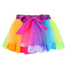 Baby Girls Kids Child Tutu Ballet Dress Up Tutus Dance Costume Party Short Skirt