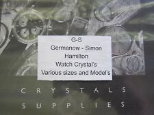 GS Replacement Watch Crystal for Vintage HAMILTON Wristwatches