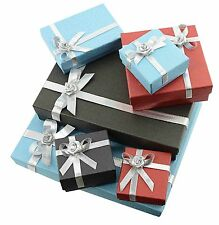 High Quality Jewellery Gift Boxes Ring Bracelet Bag Necklace Set Small Wholesale