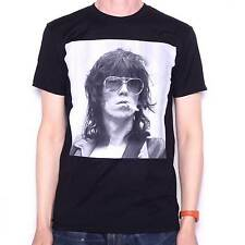 The Rolling Stones T Shirt - Keith Richards Smoke 100% Official Screenprint