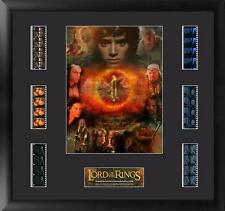 Lord of the Rings Frodo Framed Mixed Film Cell Montage